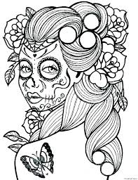 Makeup Artist Coloring Pages Makeup Face Coloring Pages Make A Page
