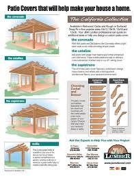 patio cover j w lumber j w lumber