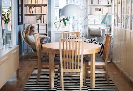 image of ikea round dining table