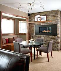stone fireplace mantel shelf designs dining room ideas for romantic winter nights floating above the a