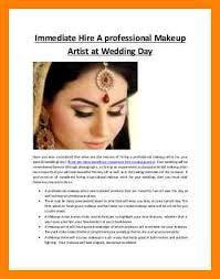 makeup artist bio exles imatehireaprofessionalmakeupartistatweddingday 150312082128 conversion gate01 thumbnail 3 jpg