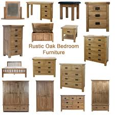 Oak Furniture Bedroom Sets Rustic Solid Oak Bedroom Furniture