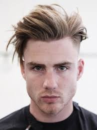 Blonde hair styles for men