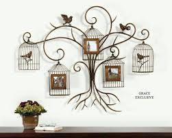 large iron wall decor wrought letters decorative metal pieces circle rod wood panel glamo
