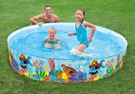 pools for kids. Fine Kids Ocean Reef 8 Ft Snapset Pool In Pools For Kids T