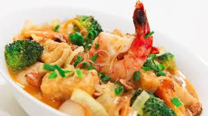 Seafood Curry Laksa Noodle Soup - Video ...