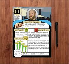 Beautiful Comic Book Resume Ideas - Simple resume Office Templates .