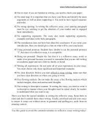 reflective essay on writing co reflective essay on writing