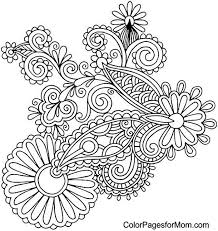 Small Picture Adult Coloring Pages Paisley Coloring Home