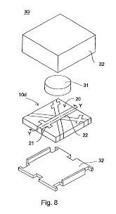 Circuit large size patent us6861920 plex circuit board nonreciprocal drawing inductor capacitor circuit
