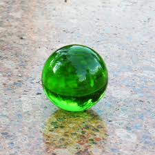 Decorative Marble Balls JQJ Green Crystal Sphere Ball Paperweights Home Feng shui 85