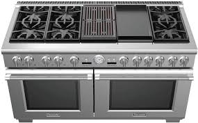 6 burner stove with double oven. Contemporary Burner In 6 Burner Stove With Double Oven T