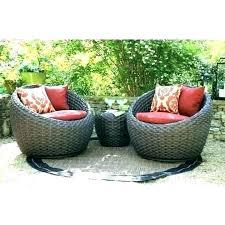 3 piece settee cushion set wicker