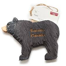 Picture of Black Bear Christmas Ornament
