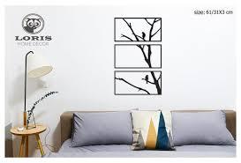 tree wall art framed tree with birds