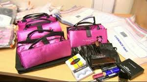 trading standards found the cosmetics which were counterfeit versions of mac benefit and middot mac black