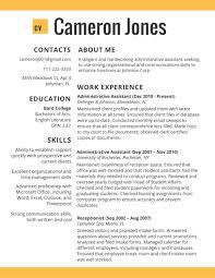 Resume Templates 2017 Resume Builder