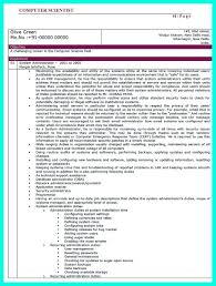 the best computer science resume sample collection writing a computer science resume acirc