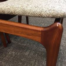 walnut dining room table erik buch walnut dining chairs for o d mobler set of 6