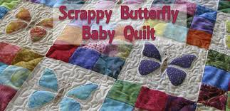 Baby Quilt Tutorial | Scrappy Butterfly Baby Quilt : AccuQuilt & ... Butterfly Baby Quilt. a914f811-d3ea-49ad-92f5-25cd56f1be001.jpg Adamdwight.com