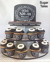 Jack Daniels Inspired Chalkboard Cake Mens Birthday Cake Mans