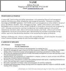 Example Of Interests On Resume Davidkarlsson