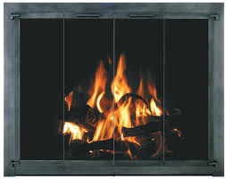 installing fireplace doors enhance the beauty and usefulness of any fireplace design and increase safety and