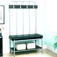 Entry Hall Coat Rack Classy Coat Rack Storage Bench Entryway With Entry Hall Tree Seat Intrabotco