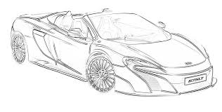 Cars coloring pages are 45 pictures of the fastest, the coolest, and the shiniest cartoon characters known all around the globe. 17 Free Sports Car Coloring Pages For Kids Save Print Enjoy