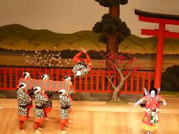 Японский народный театр кабуки Всё о Японии и обо всём японском Выступление японского театра кабуки в Лондоне