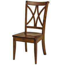 Callahan Dining Chair Formal Solid Wood Chairs  Amish Tables - Amish oak dining room furniture