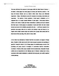 street gangs this essay will discuss the response to street gangs page 1 zoom in
