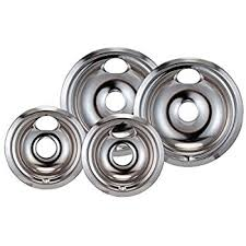 amazon com ge wb30m2 stove burner surface element 8 inch home stanco 4 pack ge hotpoint electric range chrome reflector bowls locking slot