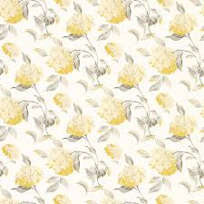 Hydrangea Camomile Floral Wallpaper at Laura Ashley