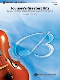 <b>Journey's Greatest Hits</b>: Full Orchestra Conductor Score & Parts