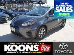 New Toyota Prius c in Arlington, VA | Inventory, Photos, Videos ...