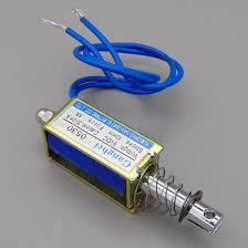 <b>JF 0530B DC 6V 12V</b> 24V Push&Pull type gangbei 0530B Open ...