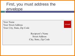 Envelope Format 5 Envelope Writing Format Business Opportunity Program