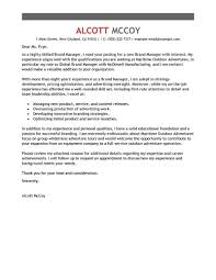 Brilliant Ideas Of Best Brand Manager Cover Letter Examples Simple