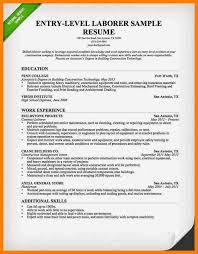 construction worker resumelaborer resume entry leveljpg sample resume for construction worker