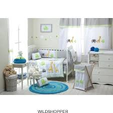 safari nursery bedding sets baby boy girl grey safari 4 crib bedding sets crib bedding collection safari nursery bedding
