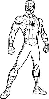 Super mario free coloring print. Fantastic Spiderman Coloring Page Free Printable Batman Pages Jaimie Bleck