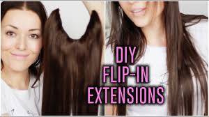 Diy Halo Extensions Beautygloss Youtube