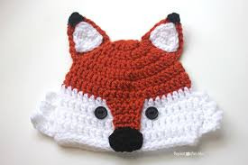 Baby Hat Crochet Pattern Magnificent Crochet Fox Hat Repeat Crafter Me