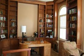 cozy contemporary home office. officeluxury home office with library and round white painted wood computer desk also modern cozy contemporary