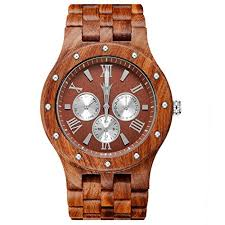meku handcrafted mens wooden watch natural sandalwood day date meku handcrafted mens wooden watch natural sandalwood day