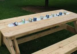 diy outdoor table with cooler. Fine Diy Cooler2 Throughout Diy Outdoor Table With Cooler H