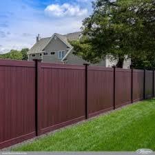 brown vinyl picket fence. Brown Vinyl Picket Fence Panels I