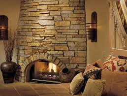 Ideas and Photos: Stone Fireplace Surrounds