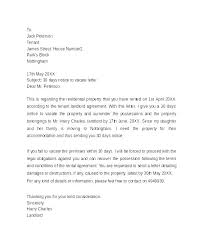 Notice To Vacate Letter Day Notice To Vacate Template Best Ideas Of Sample Letter Landlord